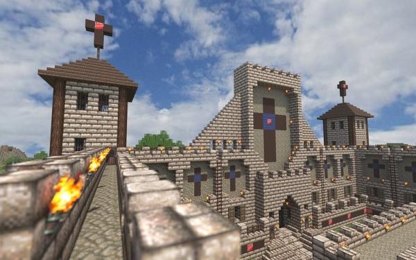 Minecraft stavba