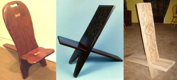Stolička v tvare X