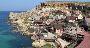 Pepek námorník Popeye na ostrove Malta