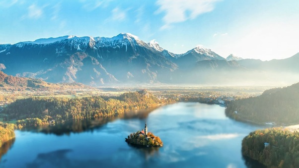 Jazero Bled, Slovinsko, skvosty európy