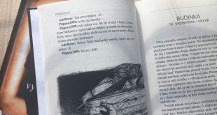 budinka, obálka a vnútro knihy